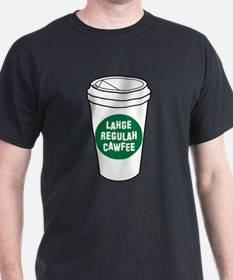 Lahge Regulah Cawfee T-Shirt