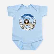 Louisiana Constable Infant Bodysuit