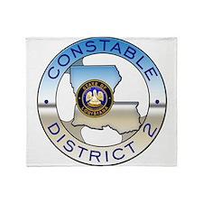 Louisiana Constable Throw Blanket
