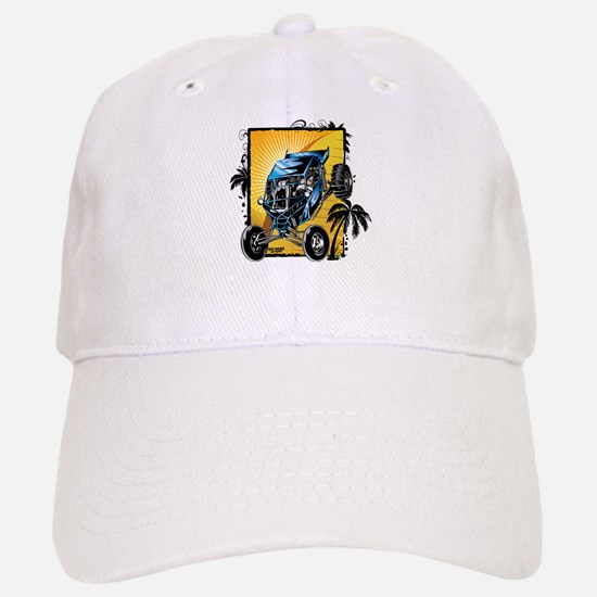 Blue Dune Buggy Baseball Baseball Cap