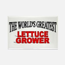"""The World's Greatest Lettuce Grower"" Rectangle Ma"
