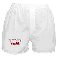 """The World's Greatest Lettuce Grower"" Boxer Shorts"