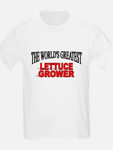 """The World's Greatest Lettuce Grower"" T-Shirt"