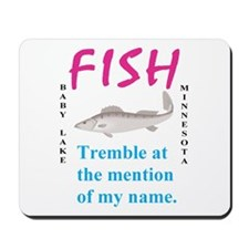 Fish Tremble Mousepad