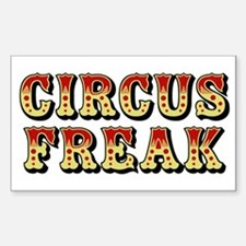 CIRCUS FREAK Rectangle Decal