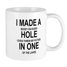 GOLF. I MADE A HOLE IN ONE Mugs