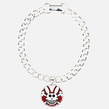Skull Bunny Dead Rabbit Bracelet