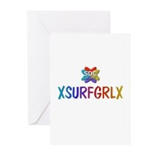 XSURFGRLX Products Greeting Cards (Pk of 10)
