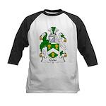 Close Family Crest Kids Baseball Jersey