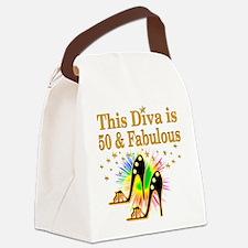 50TH PRIMA DONNA Canvas Lunch Bag