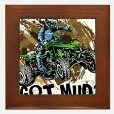 Got Mud ATV Quad Framed Tile