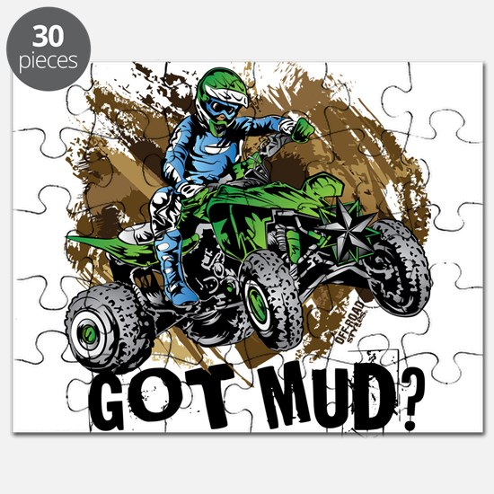 Got Mud ATV Quad Puzzle