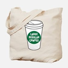 Lahge Regulah Cawfee Tote Bag