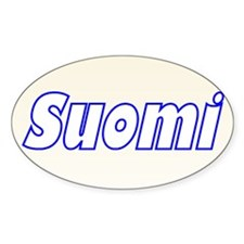 Suomi Gill Sans Oval Decal
