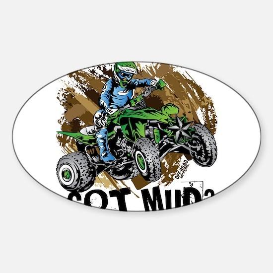 Got Mud ATV Quad Decal
