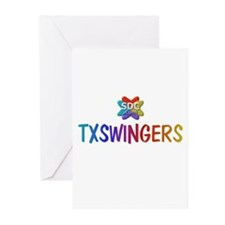 TXSWINGERS Products Greeting Cards (Pk of 10)