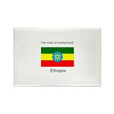 Unique Ethiopia adopt Rectangle Magnet