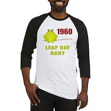 1960 Leap Year Baby Baseball Jersey