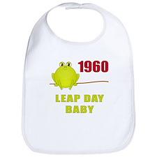 1960 Leap Year Baby Bib