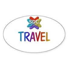 TRAVEL Products Oval Decal