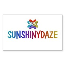 SUNSHINYDAZE Products Rectangle Decal