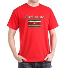 Surinamese distressed flag T-Shirt