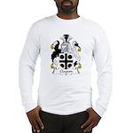 Clayton Family Crest Long Sleeve T-Shirt