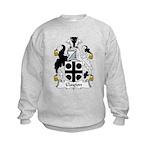 Clayton Family Crest Kids Sweatshirt