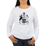 Clayton Family Crest Women's Long Sleeve T-Shirt