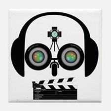 Indy Film Head Tile Coaster