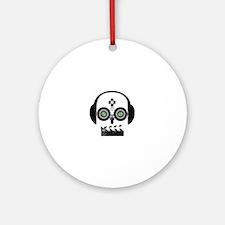 Indy Film Head Round Ornament