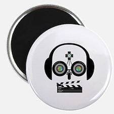 Indy Film Head Magnet