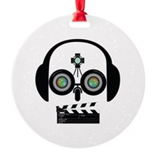 Indy Film Head Ornament
