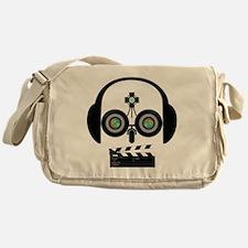 Indy Film Head Messenger Bag