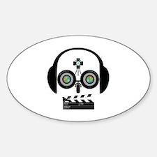 Indy Film Head Decal