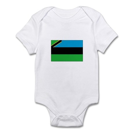 Zanzibar Flag Infant Bodysuit