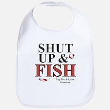 Shut Up & Fish Bib
