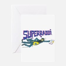 SUPERRABBI Greeting Card
