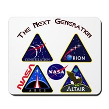 Project Constellation Logos Mousepad