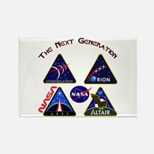 Project Constellation Logos Rectangle Magnet