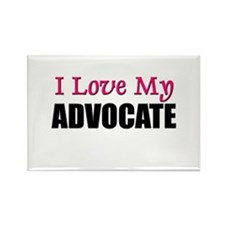 I Love My ADVOCATE Rectangle Magnet