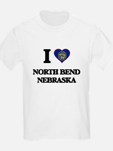 I love North Bend Nebraska T-Shirt