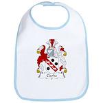 Clarke Family Crest Bib