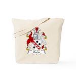 Clarke Family Crest Tote Bag