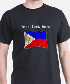 Philippines Flag (Distressed) T-Shirt