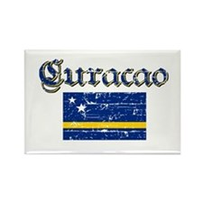 Curacao Flag Rectangle Magnet