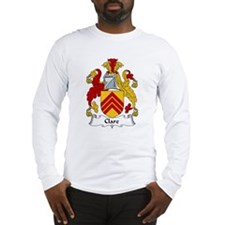 Clare Family Crest Long Sleeve T-Shirt
