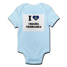 I love Omaha Nebraska Body Suit