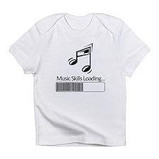 Music Skills Loading Infant T-Shirt