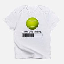 Tennis Skills Loading Infant T-Shirt